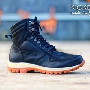 Sepatu Boots Pria Trendy Kickers Brodo Balck Grey Brown Tokopedia