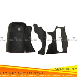 Rubber Set Karet Grip Canon 600d Tokopedia