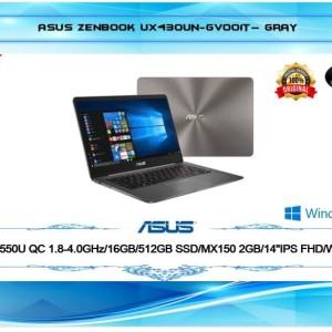 Asus Zenbook Ux430un I7 16gb 512gb 14 Win10 34671 Ek Tokopedia