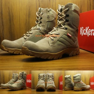 Sepatu Kickers Delta Safety Boots Cream Tokopedia