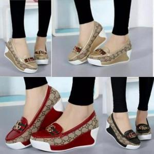 Sepatu Wedges Wanita Murah Ll77 Tokopedia