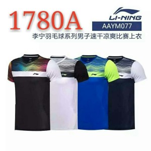 Baju Badminton New Lining Kaos Olahraga Bulutangkis Tokopedia