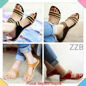 Sandal Wanita Sendal Sepatu Cewek Tokopedia