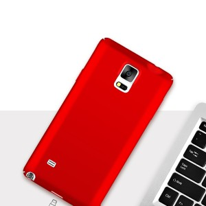 Case Hp Samsung Galaxy Note 4 Hardcase Spigen Back Cover Tokopedia