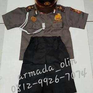 Baju Polwan Anak Baju Profesi Anak Kostum Anak Tokopedia