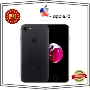 Iphone 7 Black Matte 128gb Second Fullset Ex International Tokopedia