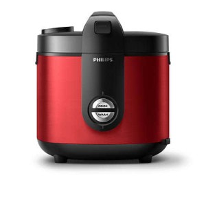 Philips Stainless Rice Cooker Pro Ceramic HD3132 Garansi Resmi Philips