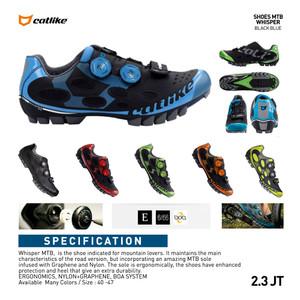 Catlike Whisper Mtb Shoes Black Sepatu Sepeda Gunung Tokopedia