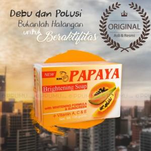 [ASLI & RESMI] Sabun RDL Papaya 135 gram - Sabun Pepaya Whitening Soap