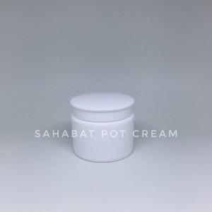 Pot Cream Kosmetik 30gr Tutup Topi Putih Putih Tokopedia