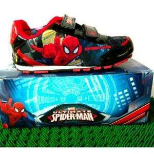 Sepatu Sekolah Anak Laki Laki Merah Biru Tokopedia