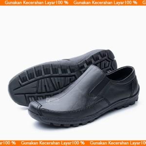 Sepatu Slip On Kulit Tokopedia