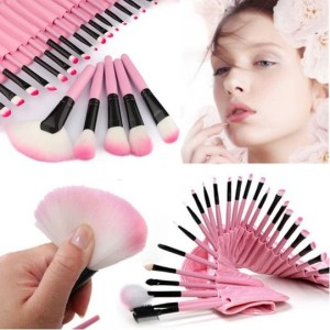 Kuas Make Up Kosmetik Profesional 15 Set Brush Kecantikan Tokopedia