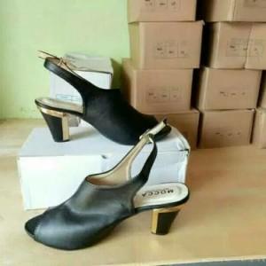 Jual sepatu sandal wanita cewe murah HIGH HEELS IP 21 HITAM fo1 high heels 0ee4060b8a