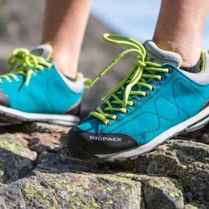 Sepatu Outdoor Trekking Mendaki Bigpack Street Approach Vibram Tokopedia