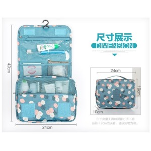 Tas Ransel Korea Travel Hanging Gantung Toiletry Kosmetik Pouch Bag Tokopedia