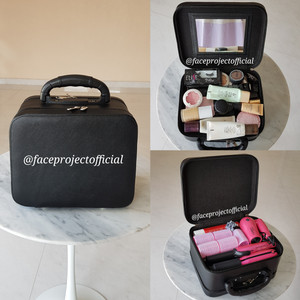 Tas Kosmetik Koper Makeup Tas Makeup Beauty Case Tokopedia