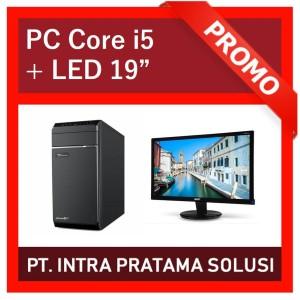 PC Rakitan i5 Lengkap + Monitor (For Office and Design Needs)