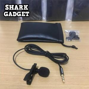 Mic Microphone Clip On Hp Smartphone Pc Laptop 3 5mm Tokopedia
