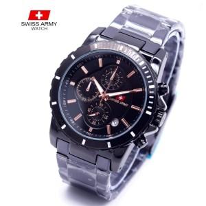 Jam Tangan Pria Cowok Swiss Army Super Premium Tokopedia
