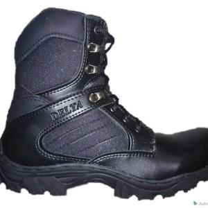 Sepatu Delta Safety Taktical Hitam Tokopedia