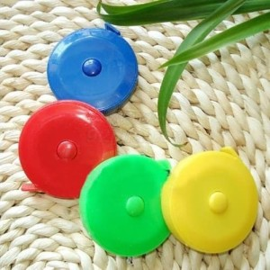 Meteran Baju Tubuh Gulung Putar Mini Tarik Candy Colour 150 Cm Tokopedia