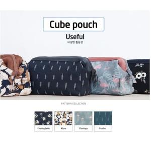 Korean Cube Pouch Cosmetic Bag Tas Kosmetik Tokopedia