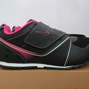 Sepatu Anak Perempuan Kets Ando Lindsey Hitam Pink Tokopedia