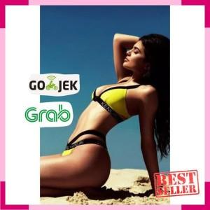 Bikini Monokini Swimsuit Kuning S Harga Promo Tokopedia