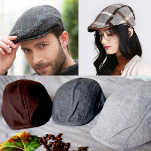 Sale Topi Kodok Patino Flat Cap Topipet Fleece Newsboy Murah Import ... 1559f11b59