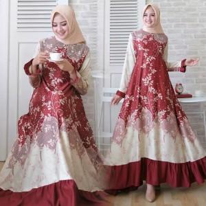 Baju Wanita Batik Gamis Tokopedia