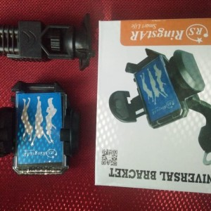 Holder Motor Dudukan Hp Motor Holder Robot Motor Pegangan Hp Tokopedia