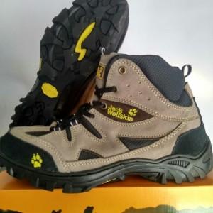 Sepatu Gunung Jack Wolfskin Sport Olahraga Outdoor Hiking Tracking Boots Sneakers Waterproof Tokopedia
