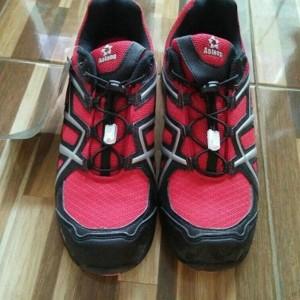 Sepatu Safety Aolang Merah New Tokopedia