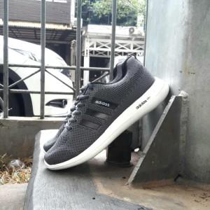 Sepatu Running Adidas Cloudfoam Pria Olahraga Sekolah Tokopedia