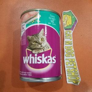 Jual Whiskas Kaleng Makanan Basah Kucing Wetfood Cat rasa TUNA 400g