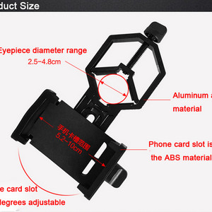 Adapter Holder Universal Telescope Teropong Handpone Hp Tokopedia