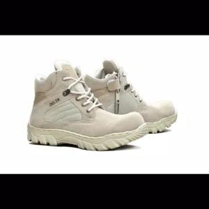 Sepatu Safety Ujung Besi Kickers Boots Kulit Tokopedia