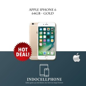 Iphone 6 64gb Gold Second Ori Mulus Imei Tembus Tokopedia