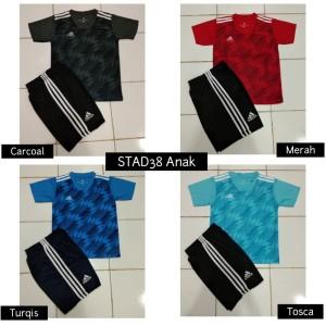 Setelan Futsal Baju Sepakbola Anak Junior Ad 38 Carcoal Tokopedia