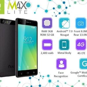 Hp Nuu M4x Lite Ram 3gb Internal 32gb Smartphone Garansi Resmi Tokopedia