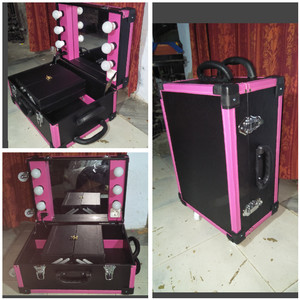 Koper Make Up Case Beauty Case Makeup Kotak Rias Tas Kosmetik Box Tokopedia