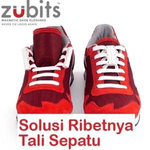 Zubits Magnet Tali Sepatu Lari Size 3 Putih Tokopedia
