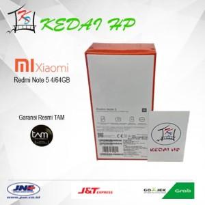 Xiaomi Redmi Note 5 4 64gb Black Tokopedia