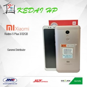 Xiaomi Redmi 5 Plus Gold Ram 3 32 Gb Rom Global Stabil Tokopedia