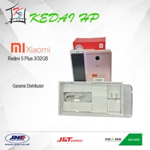 Xiaomi Redmi 5 Plus 3 32 Black Tokopedia