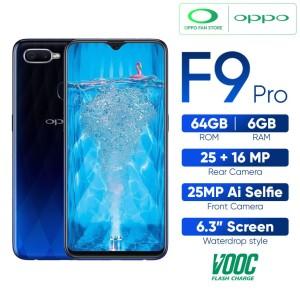 Oppo F9 Pro Twilight Blue Ram 6gb 64gb Tokopedia
