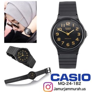 Casio Mq24 1b2 Original Jam Tangan Wanita Dewasa Remaja Anak Anak Tokopedia