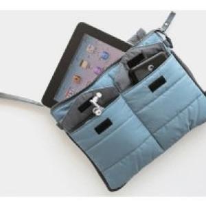 Bag In Bag Women Organizer Tas Pouch Dompet Kosmetik Biru Muda Tokopedia