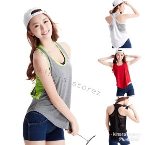 Baju Olahraga Wanita Baju Senam Satu Set Sport New Import Tokopedia